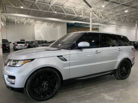 2016 Land Rover Range Rover Sport for sale at Godspeed Motors in Charlotte NC