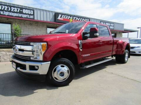 2017 Ford F-350 Super Duty for sale at Lightning Motorsports in Grand Prairie TX
