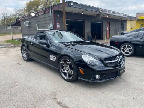 2009 Mercedes-Benz SL-Class for sale at Texas Luxury Auto in Houston TX
