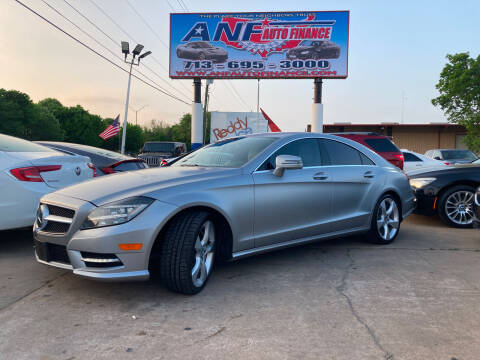 2014 Mercedes-Benz CLS for sale at ANF AUTO FINANCE in Houston TX