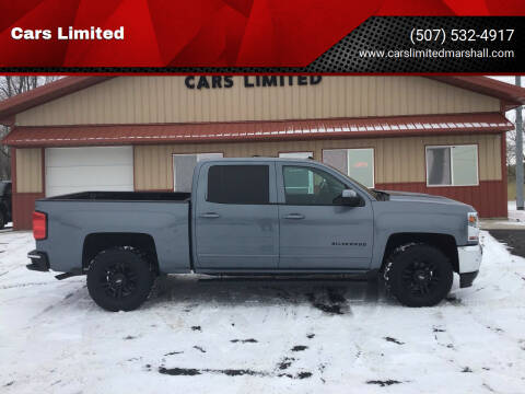 2016 Chevrolet Silverado 1500 for sale at Cars Unlimited in Marshall MN