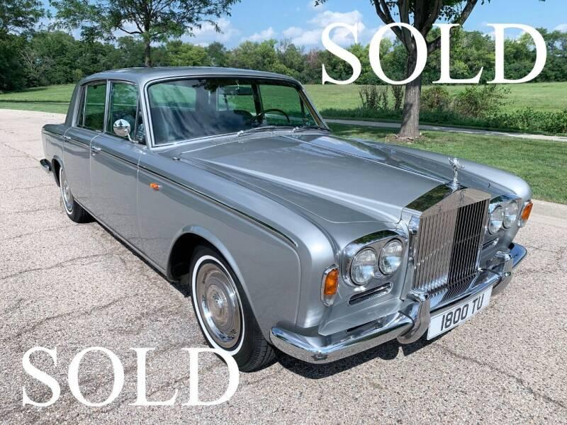 1968 Rolls-Royce Silver Shadow for sale at Park Ward Motors Museum - Park Ward Motors in Crystal Lake IL