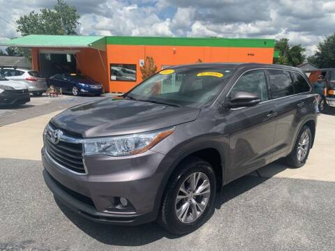 2015 Toyota Highlander for sale at Galaxy Auto Service, Inc. in Orlando FL