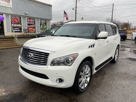 2014 Infiniti QX80 for sale at Bagwell Motors in Lowell AR