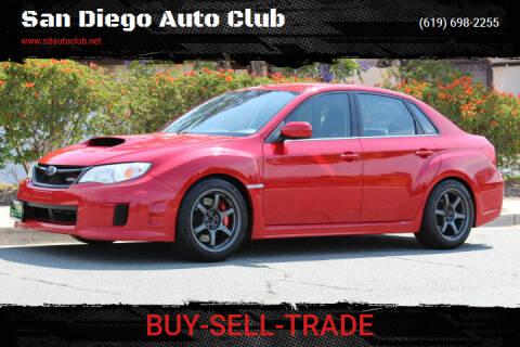 2012 Subaru Impreza for sale at San Diego Auto Club in Spring Valley CA