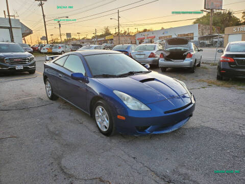2005 Toyota Celica for sale at Green Ride Inc in Nashville TN