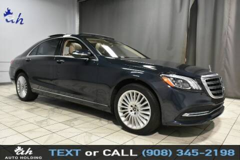 2018 Mercedes-Benz S-Class for sale at AUTO HOLDING in Hillside NJ