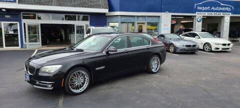 2013 BMW 7 Series for sale at Import Autowerks in Portsmouth VA