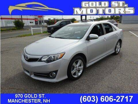 2014 Toyota Camry for sale at Gold St. Motors in Manchester NH