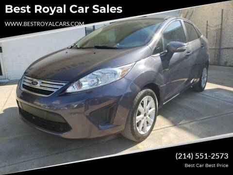 2013 Ford Fiesta for sale at Best Royal Car Sales in Dallas TX