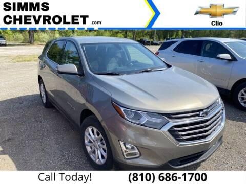 2018 Chevrolet Equinox for sale at Aaron Adams @ Simms Chevrolet in Clio MI