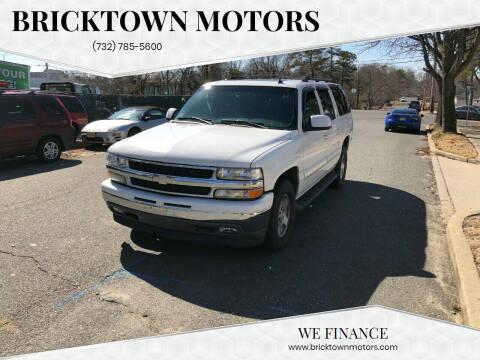 2006 Chevrolet Suburban for sale at Bricktown Motors in Brick NJ