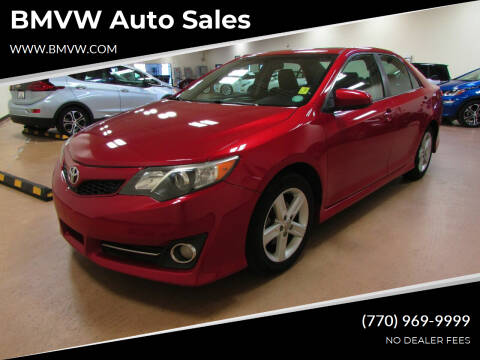 2012 Toyota Camry for sale at BMVW Auto Sales in Union City GA