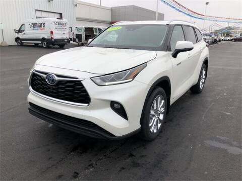 2021 Toyota Highlander Hybrid for sale at White's Honda Toyota of Lima in Lima OH