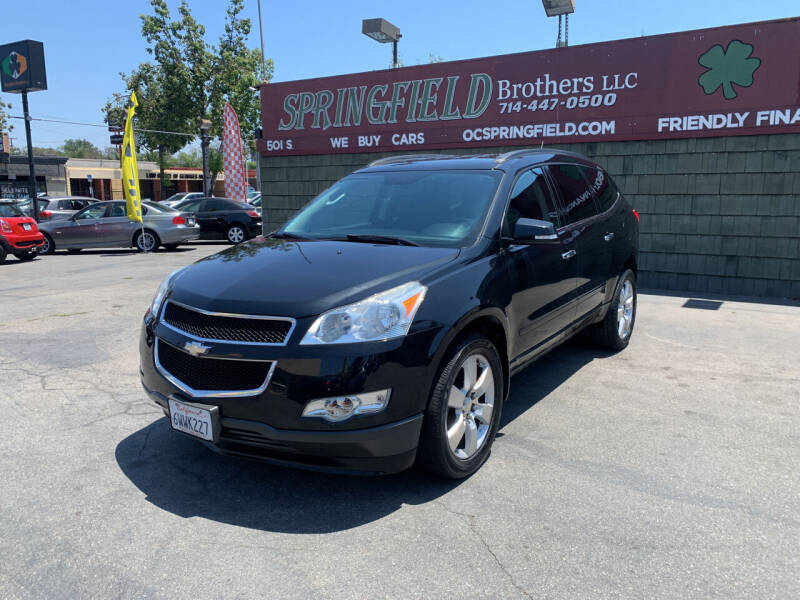 2012 Chevrolet Traverse for sale at SPRINGFIELD BROTHERS LLC in Fullerton CA