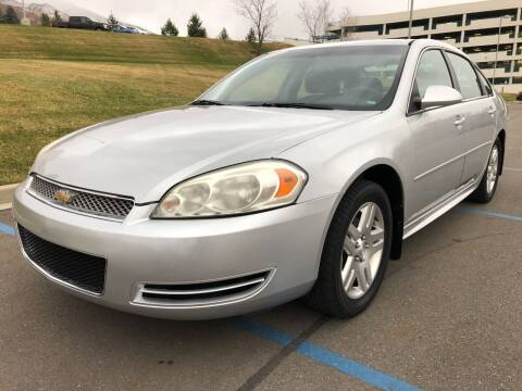 2012 Chevrolet Impala for sale at DRIVE N BUY AUTO SALES in Ogden UT