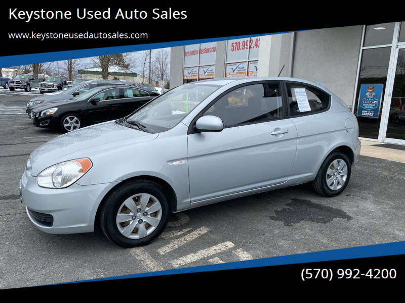 2010 Hyundai Accent for sale at Keystone Used Auto Sales in Brodheadsville PA