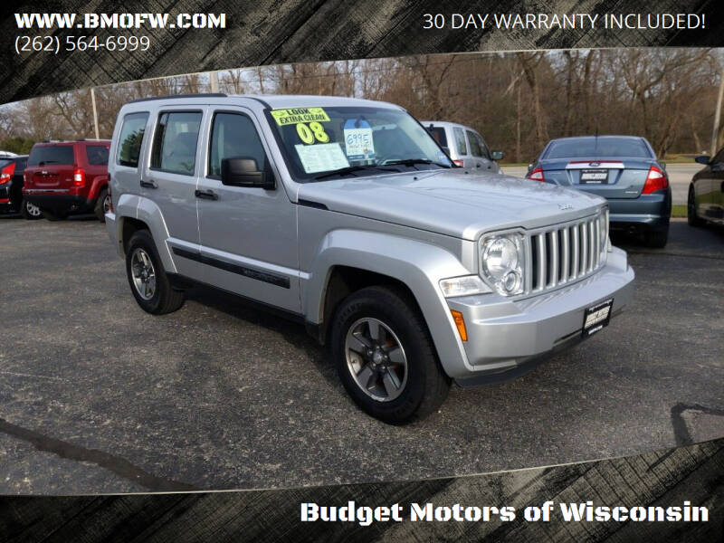2008 Jeep Liberty for sale at Budget Motors of Wisconsin in Racine WI