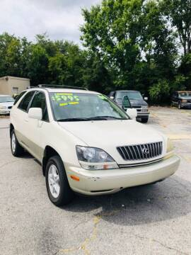 2000 Lexus RX 300 for sale at Capital Car Sales of Columbia in Columbia SC