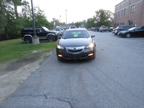 2012 Acura TL for sale at Heritage Truck and Auto Inc. in Londonderry NH