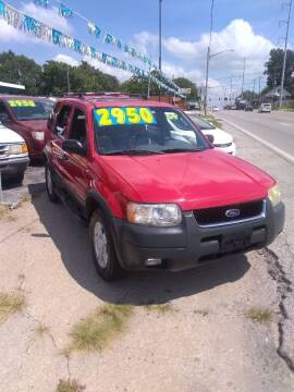 2002 Ford Escape for sale at JJ's Auto Sales in Independence MO