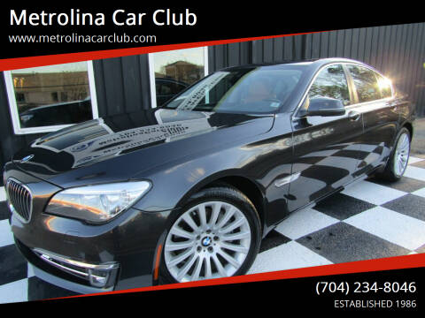 2013 BMW 7 Series for sale at Metrolina Car Club in Matthews NC