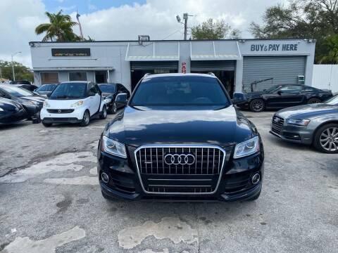 2015 Audi Q5 for sale at America Auto Wholesale Inc in Miami FL