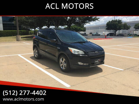2013 Ford Escape for sale at ACL MOTORS in Austin TX