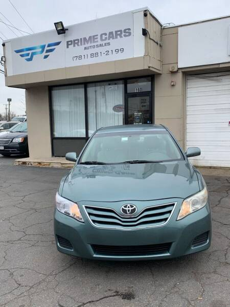 2010 Toyota Camry for sale at Prime Cars Auto Sales in Saugus MA