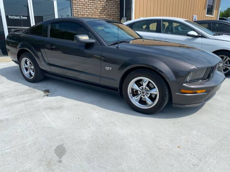 2007 Ford Mustang for sale at DRAKEWOOD AUTO SALES in Portland TN