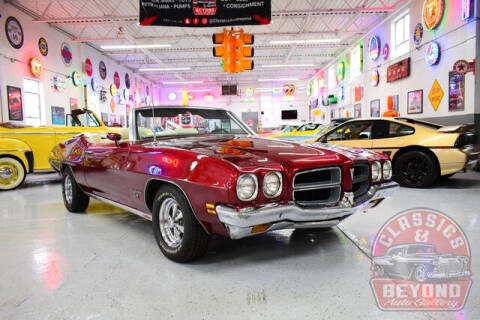 1972 Pontiac Le Mans for sale at Classics and Beyond Auto Gallery in Wayne MI