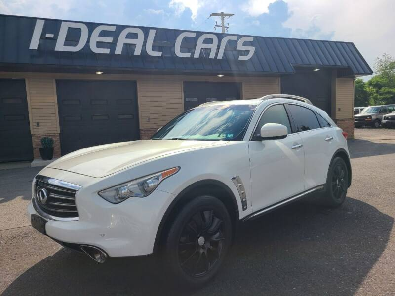 2012 Infiniti FX35 for sale at I-Deal Cars in Harrisburg PA