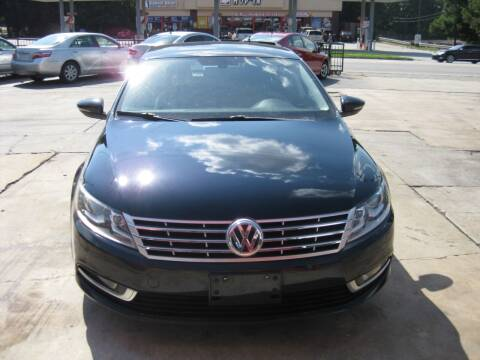 2013 Volkswagen CC for sale at LAKE CITY AUTO SALES in Forest Park GA