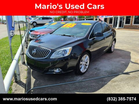 2015 Buick Verano for sale at Mario's Used Cars - South Houston Location in South Houston TX