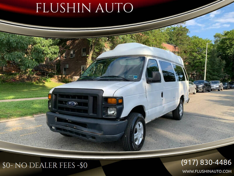 2012 Ford E-Series Cargo for sale at FLUSHIN AUTO in Flushing NY