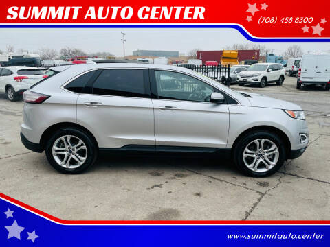 2018 Ford Edge for sale at SUMMIT AUTO CENTER in Summit IL