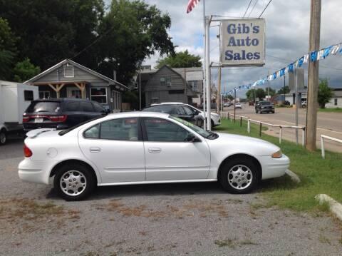 2003 Oldsmobile Alero for sale at GIB'S AUTO SALES in Tahlequah OK