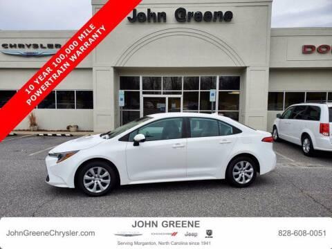 2020 Toyota Corolla for sale at John Greene Chrysler Dodge Jeep Ram in Morganton NC