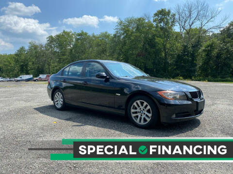2007 BMW 3 Series for sale at QUALITY AUTOS in Hamburg NJ