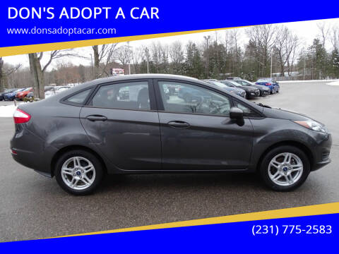 2019 Ford Fiesta for sale at DON'S ADOPT A CAR in Cadillac MI