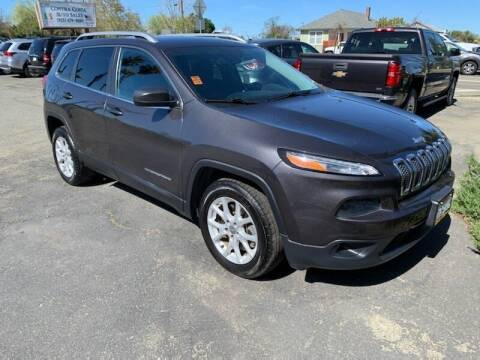 2016 Jeep Cherokee for sale at Contra Costa Auto Sales in Oakley CA