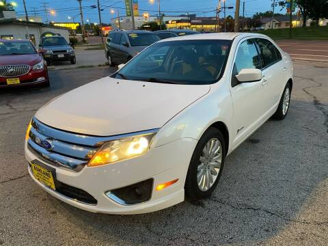 2011 Ford Fusion Hybrid for sale at ASHLAND AUTO SALES in Columbia MO