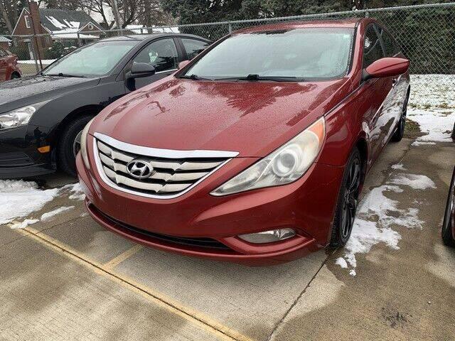 2011 Hyundai Sonata for sale at Martell Auto Sales Inc in Warren MI