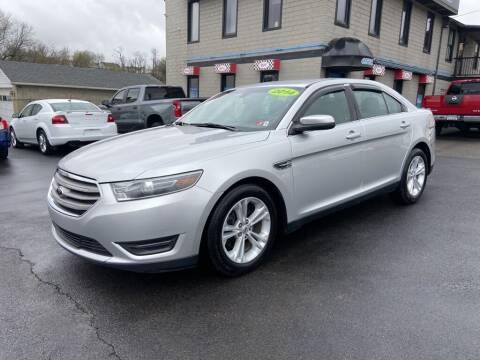 2014 Ford Taurus for sale at Sisson Pre-Owned in Uniontown PA