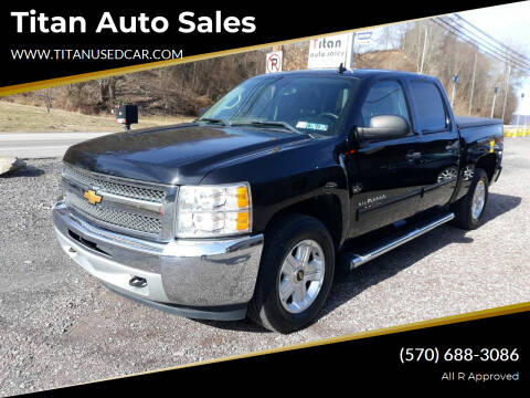 2013 Chevrolet Silverado 1500 for sale at Titan Auto Sales in Berwick PA