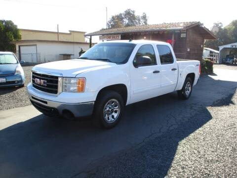 2010 GMC Sierra 1500 for sale at Manzanita Car Sales in Gridley CA