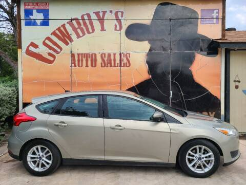 2016 Ford Focus for sale at Cowboy's Auto Sales in San Antonio TX