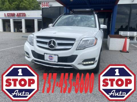2014 Mercedes-Benz GLK for sale at 1 Stop Auto in Norfolk VA