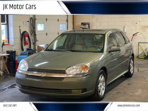 2005 Chevrolet Malibu Maxx for sale at JK Motor Cars in Pittsburgh PA