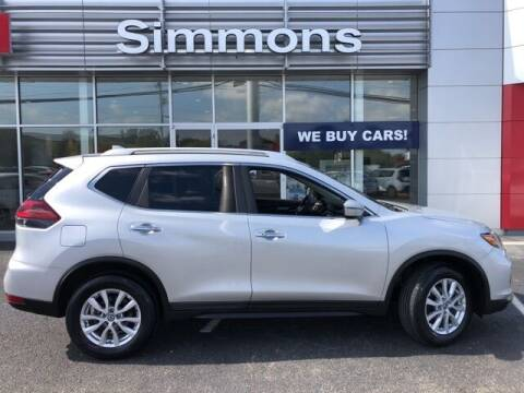 2019 Nissan Rogue for sale at SIMMONS NISSAN INC in Mount Airy NC